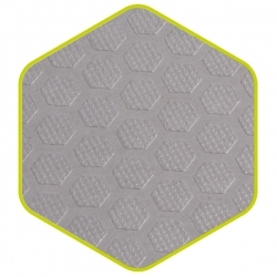 Vloerbekleding bestelwagen hexaline grijs